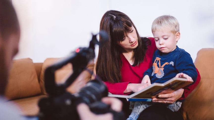Anja Landshoeft mit ihrem Sohn