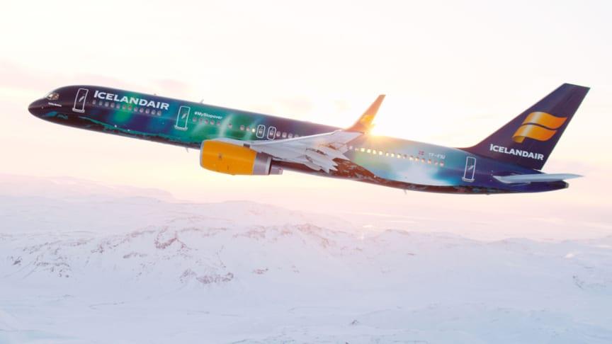 Uusia reittejä ja matkustajamäärien nousua – Icelandair jatkaa kasvua vuodelle 2018
