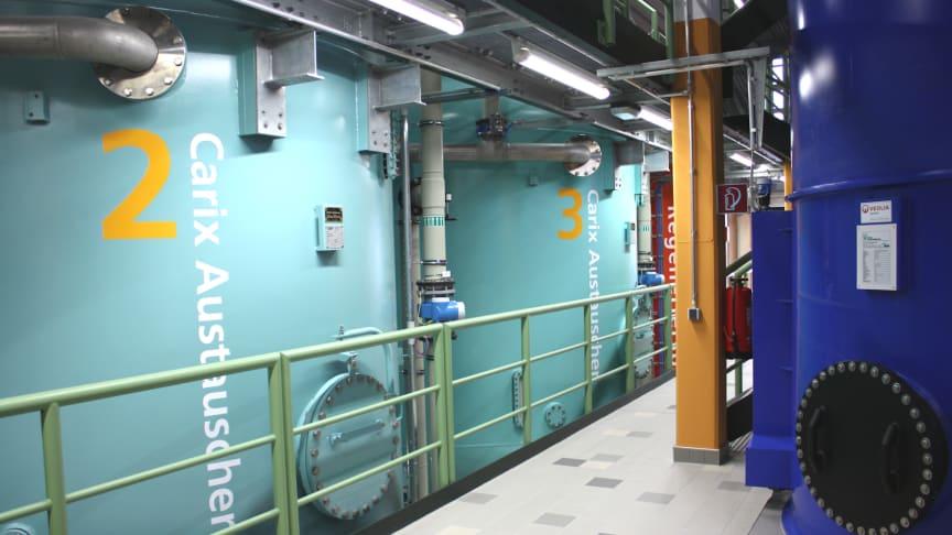 CARIX Ionenaustauscher bestechen durch Nachhaltigkeit und Kompaktheit