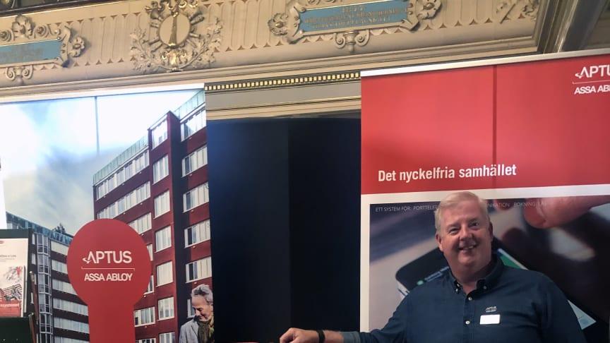Stefan Neilsen, säljare, Aptus