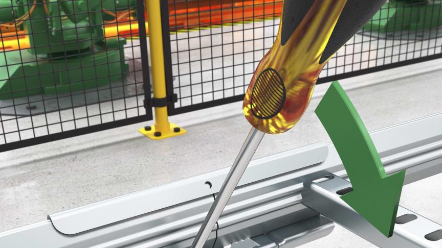 Ny skrueløs klikk-skjøt for Wibe kabelstiger