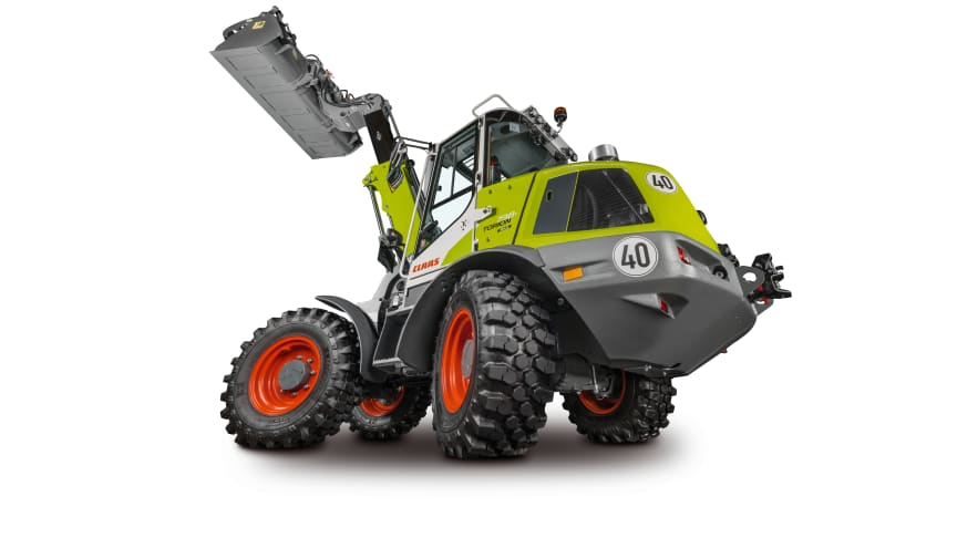 CLAAS adds high-tech telescopic wheel loader to the TORION model series