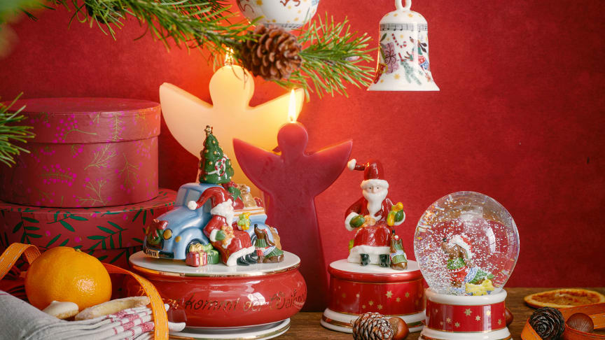 Joyful gift articles and collector's cups enrich the Hutschenreuther Christmas collection in 2020.