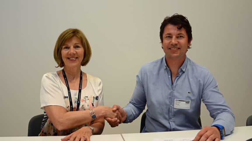 Undervisningsbygg signerer kontrakt på 73 millioner