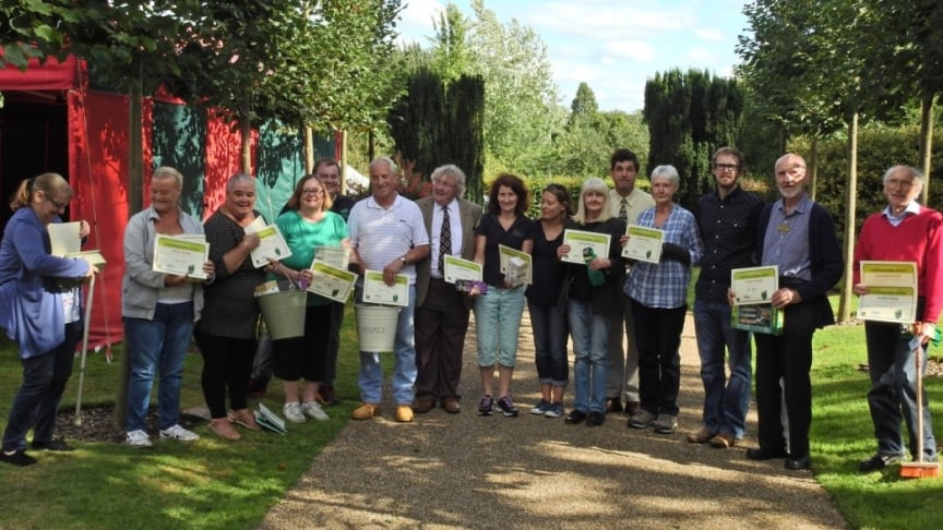 Participants of Birmingham's award-winning Health for Life in the community programme were awarded for their best home grown produce at this year's horticultural show