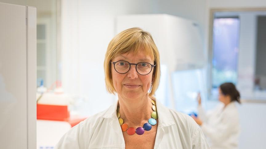 Maja Johansson, platschef på Diamyd Medicals anläggning i Umeå.