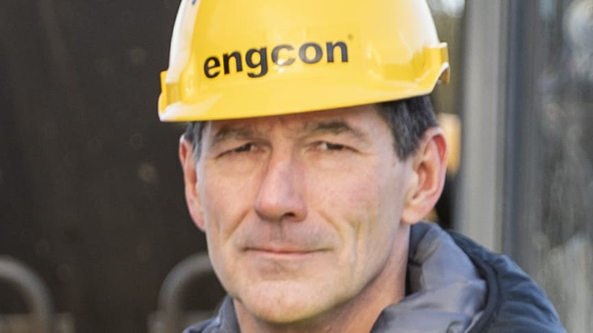Stig Engström, ägare och grundare av Engcon