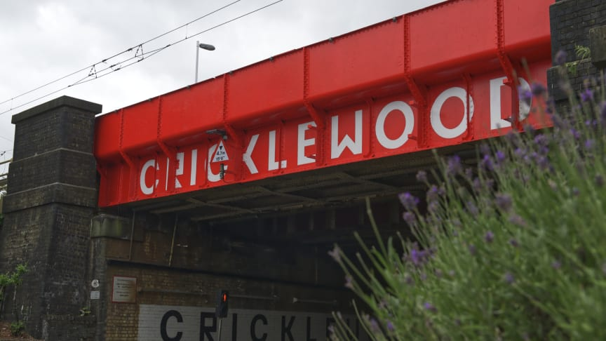 Cricklewood railway bridge