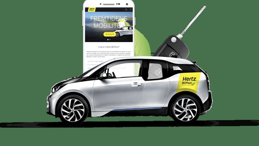 Hertz  Bergen Minde får BilPool som produkt