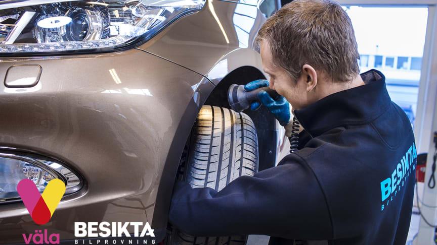 Besikta Bilprovning öppnar en ny besiktningsstation på Väla