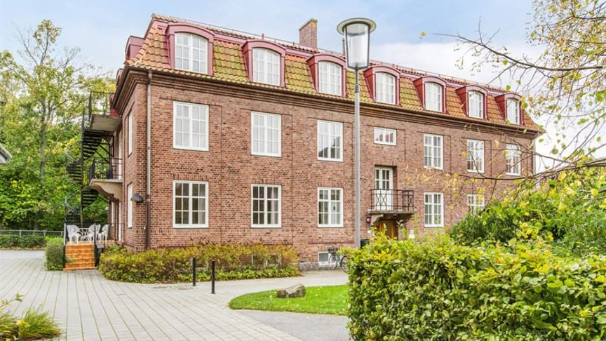 Hvilan Gymnasiums nya lokaler i Lund