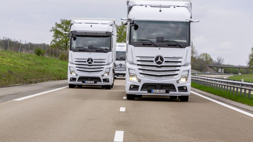 Mercedes-Benz bästa generalagent för lastbilar i Sverige. För tredje året i rad!