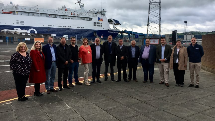 Representatives from Dumfries and Galloway Council are visiting key locations throughout the borough.