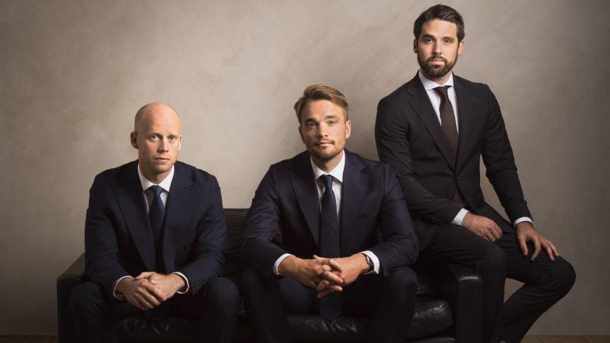 AIFM-ledarskapstrion: Dan Hjörnered, Thomas Dahlin, Johan Björkholm