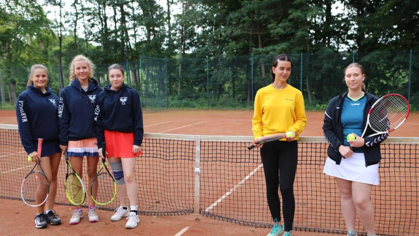 Tennis ist eine der beliebtesten Gilden in Louisenlund