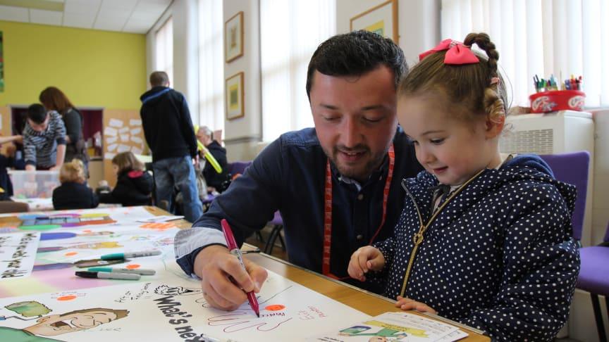 Northumbria innovators shine a light on Ashington's future