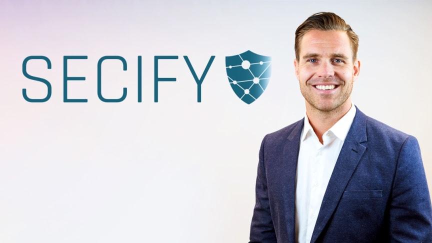 Daniel Fyhr blir ny tf VD för Secify