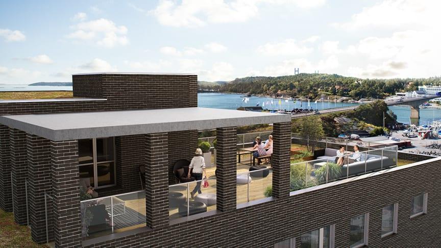 Säljstart för nya lägenheter på Stenunge Strand