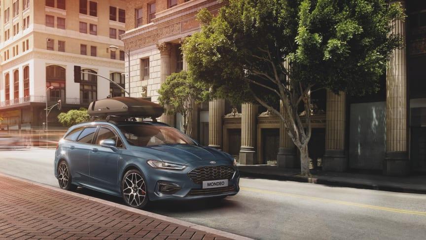 Ford går över helt till hybridproduktion för Mondeo