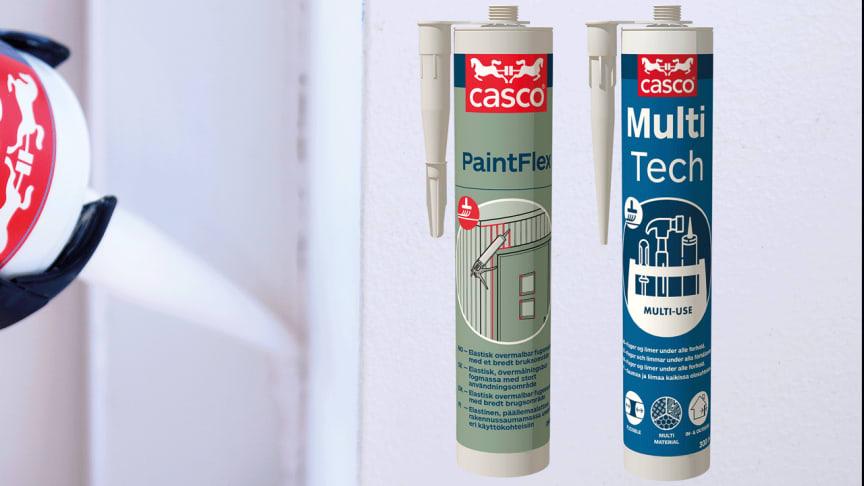 Nya Casco PaintFlex och Casco MultiTech
