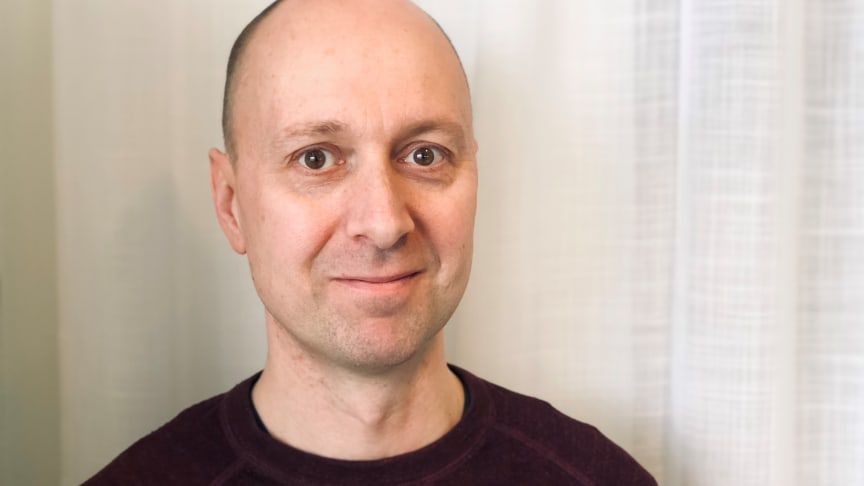 Joakim Vickman, new at UmanDiagnostics.