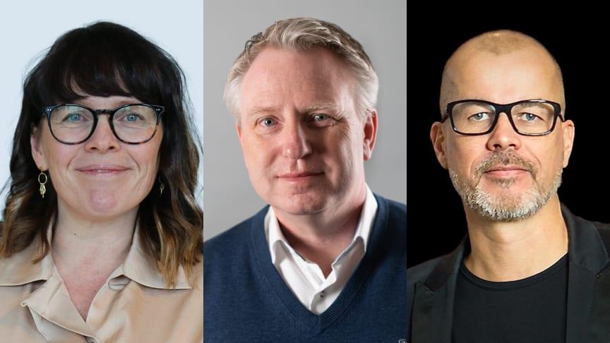 Marie Wirkestrand, B-O Hertz and Pierre Renhult, strategy experts at Nexer.