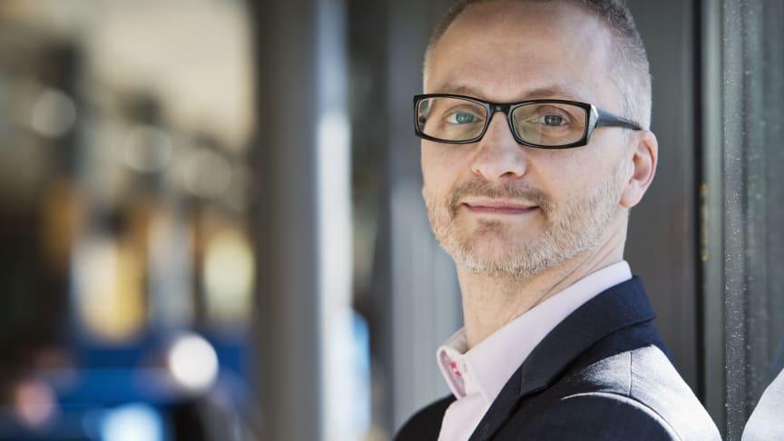 Lars E. Olsson, ny professor i psykologi. Foto: Oyvind Lund.