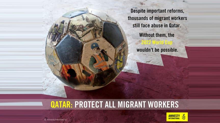 Qatar - två år till herrarnas VM och migrantarbetare fortsätter att utnyttjas