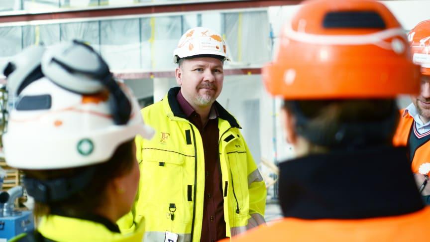Bygget av Swedbanks nya HK – som att leda ett mellanstort företag i stark tillväxt