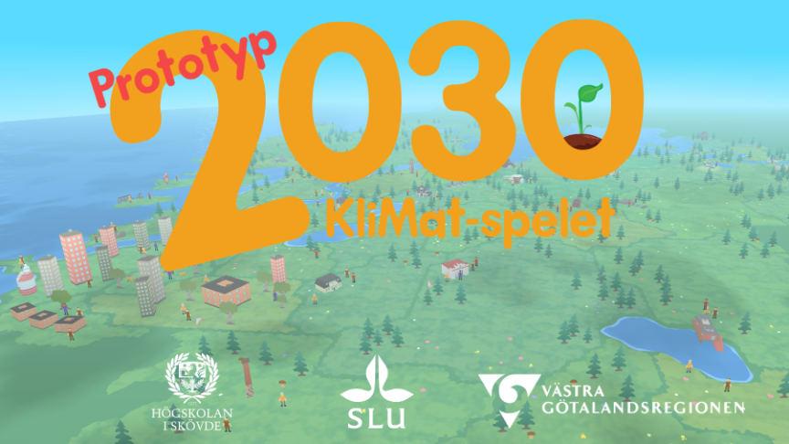 SLU och HS utvecklar spelprototyp om maten, klimatet och miljön