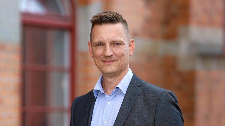 Jari Salmijärvi, ny rektor på Kunskapscompaniet Gymnasium