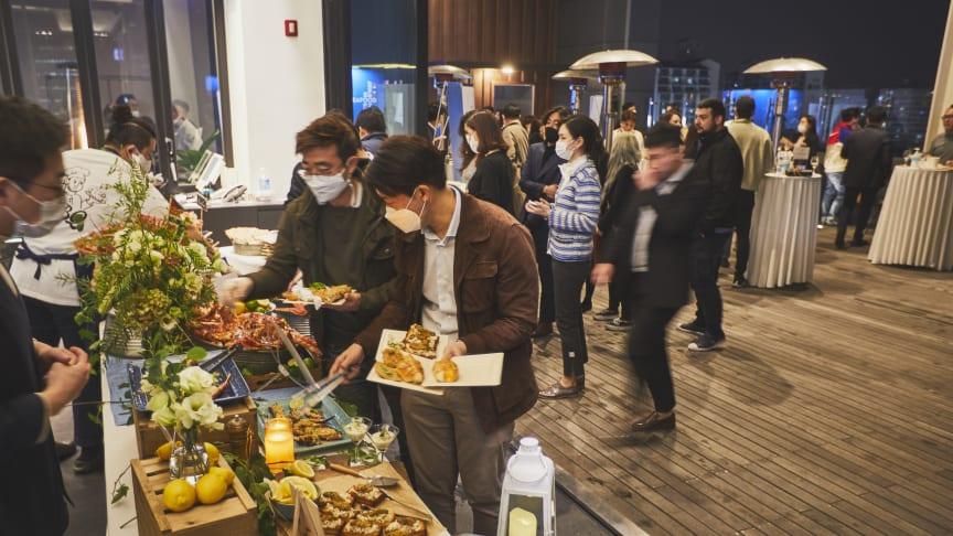 Norsk rød kongekrabbe blir stadig mer populær hos sørkoreanske gourmeter. FOTO Norges sjømatråd