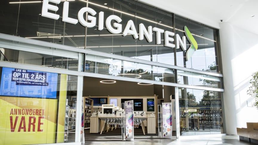 Kanon-år for Elgiganten i Danmark