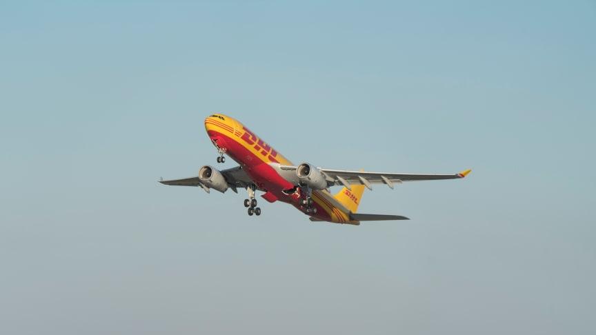 """DHL har genomfört den """"perfekta flygningen"""" från Leipzig till New York"""