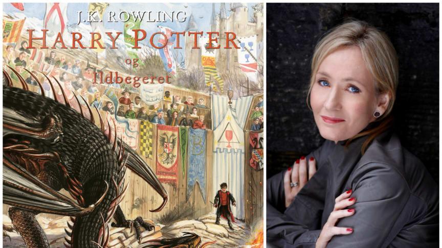 Det er allerede 20 år siden bøkene om Harry Potter begynte å spre seg som en farsott over Norge. Bøkene om foreldreløse Harry trollbinder fortsatt barn og voksne (Illustrasjoner: Jim Kay Foto: Debra Hurford Brown) .