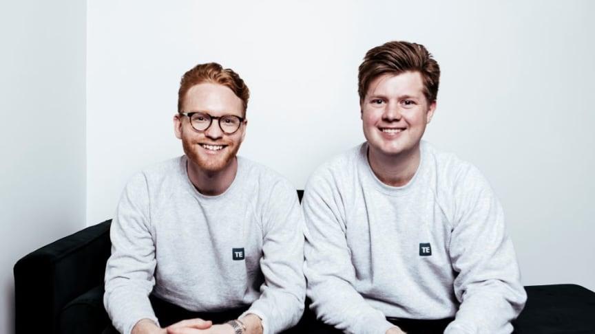 Johan Blomdahl, CEO, and Johan Hörnell, CTO, TimeEdit