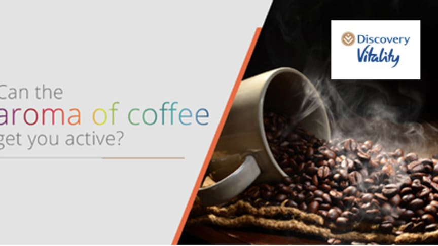 Can the aroma of coffee get you active?