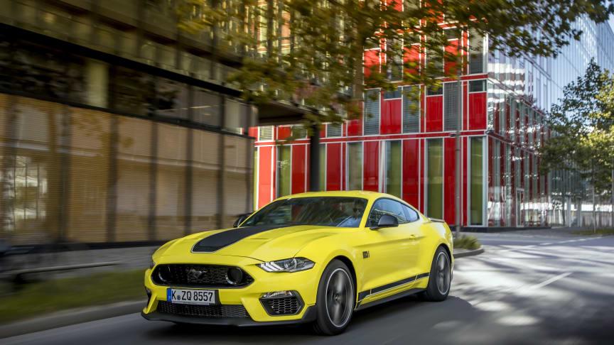 Eurooppaan tulossa rajoitettu erä Mustang Mach 1 autoja