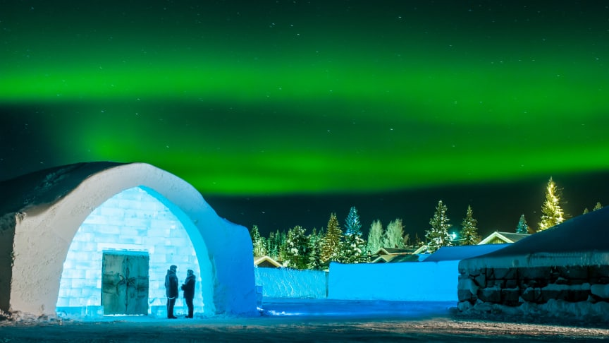 Norrsken Icehotel. Foto Asaf Kliger.