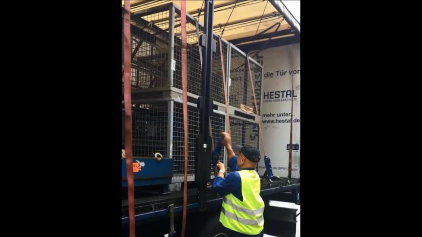 Das HESTAL Gurtliftsystem - Ladungssicherung leicht gemacht