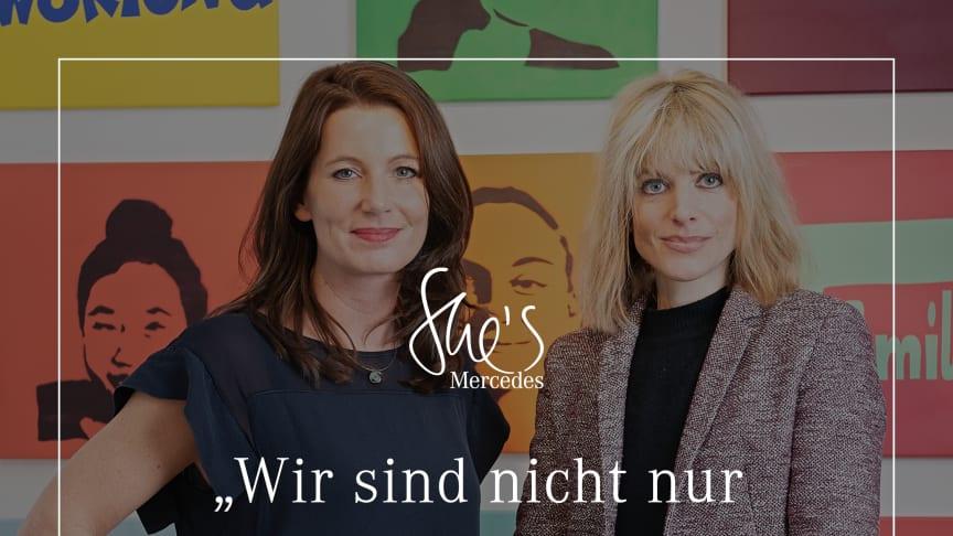 Mara Bertling mit Philosophin und Bestsellerautorin Rebekka Reinhard