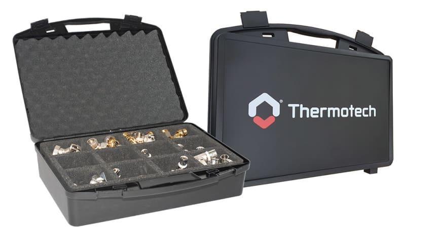 Sortimentväska för smidig förvaring av Thermotechs kopplingar och tillbehör