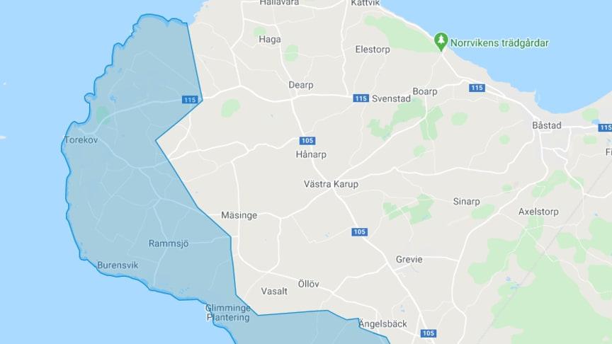 NSVA inför bevattningsförbud i Torekov med omnejd