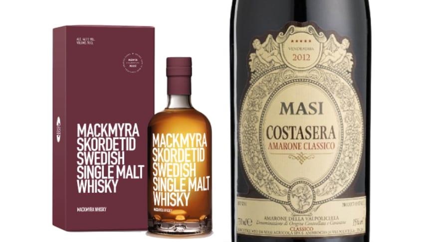 Originalamarone släpps i unik 5-litersflaska – faten gav smak till Mackmyrawhisky