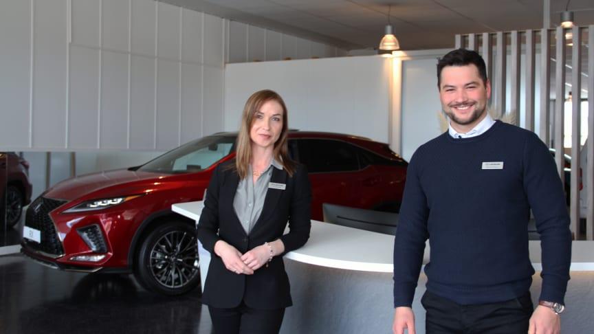 En slik tilbakemelding er en helt fantastisk anerkjennelse fra våre kunder om at de setter pris på kvalitetsbilene og servicen våre forhandlere leverer, sier Morten Teksnes og Julie Elvestad ved Lexus Bodø.