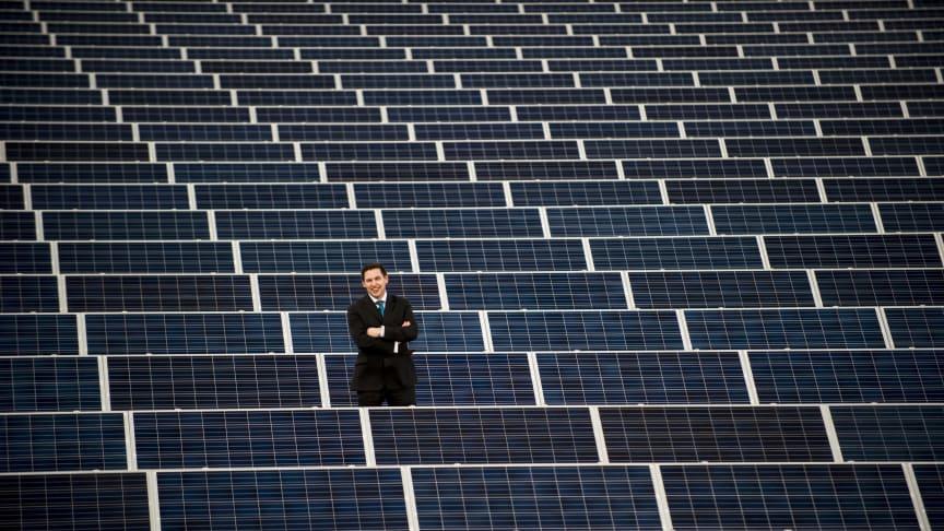 Major investment in solar panels makes environmental impact