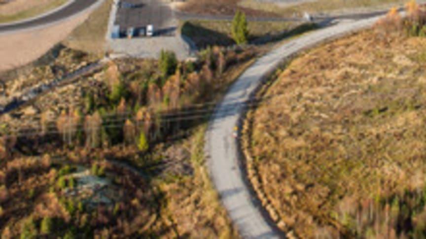 Test Track 1 - Sveriges modernaste testbana vid Stockholm Arlanda Airport
