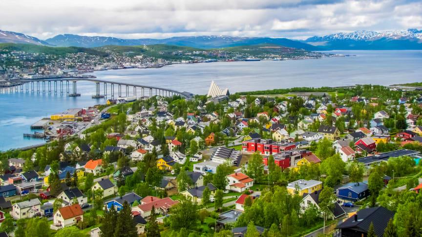 Onsdag åpnet Telenor de første 5G-basestasjonene i Tromsø.