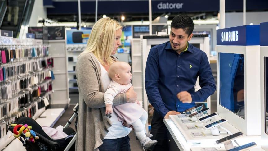 Rekordhøy kundetilfredshet ga rekordresultat for Elkjøp