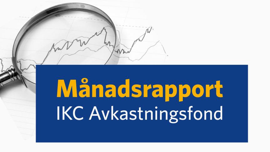IKC Avkastningsfond startade året starkt med uppgång.